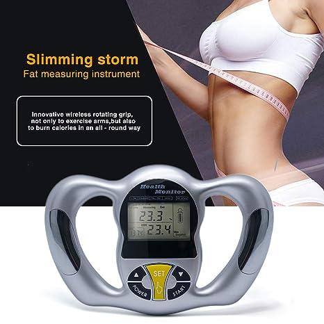 calcolatore di grasso corporeo con peso e altezza