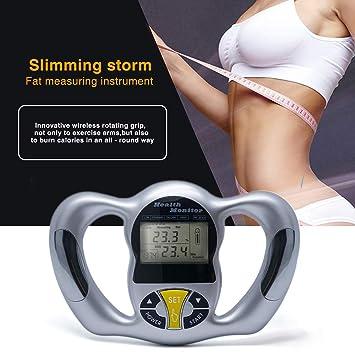 Body Health Monitor Digital LCD Fat Analyzer BMI Meter