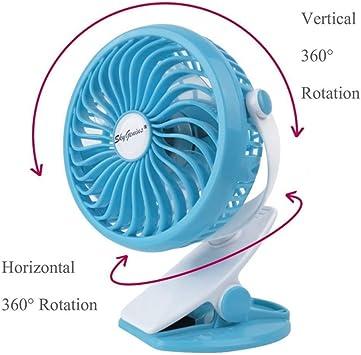 Trade Shop Traesio - Ventilador oscilante orientable, Soporte con ...