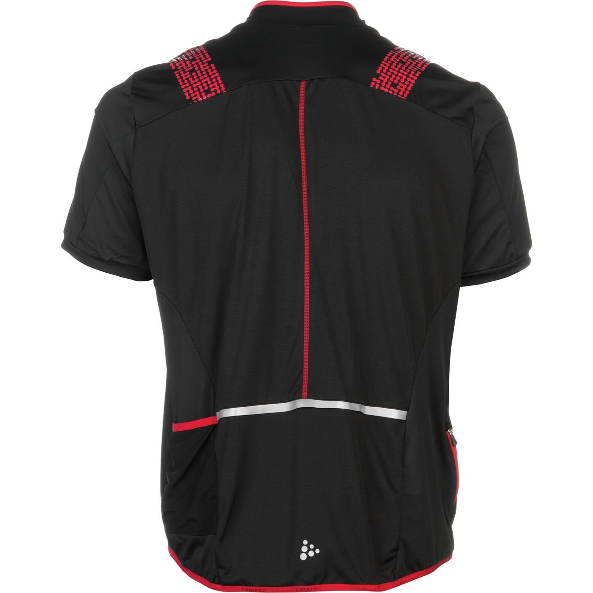 Craft Sportswear Mens Free Bike Cycling Full Zip Short Sleeve Reflective Jersey with Pockets protective//riding//compression//cooling Craft Sports Apparel 1903295