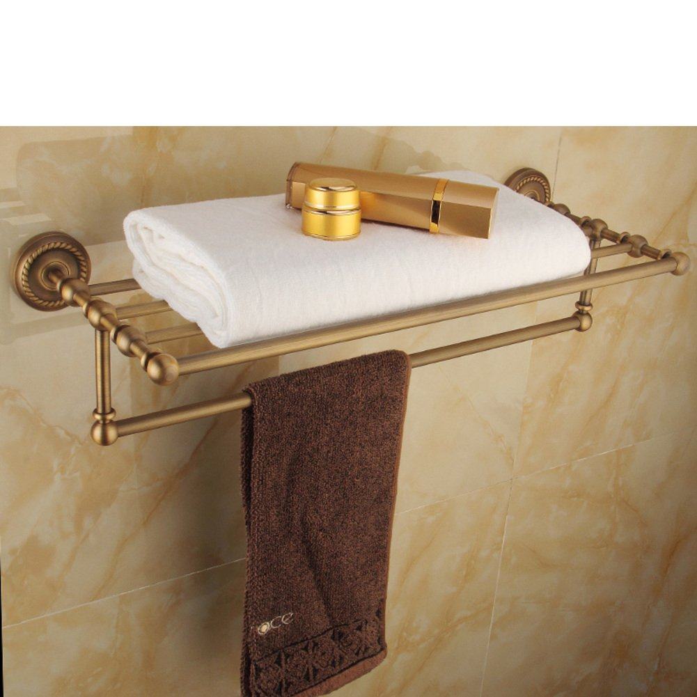 Bathroom Towel Rack Kit: Durable Service Metal Pendants-Kit/towel Rack/Towel Shelf