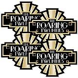 Roaring 20's - Art Deco DIY 1920s Jazz Party Essentials - Set of 20