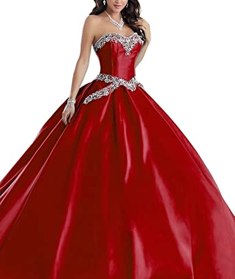 b9d943d4081c Image Unavailable. Image not available for. Color: Quinceanera Dresses for Girls  Vestidos DE 15 anos Beading Ball Gowns Prom Dress NAXY6113