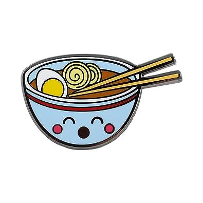 8f48216c0 Amazon.com: REAL SIC Ramen Enamel Pin - Cute Kawaii Noodle Lapel Pin - Ramen  Fashion Accessory for Jackets, Backpacks, Bags, Hats & Tops: Jewelry