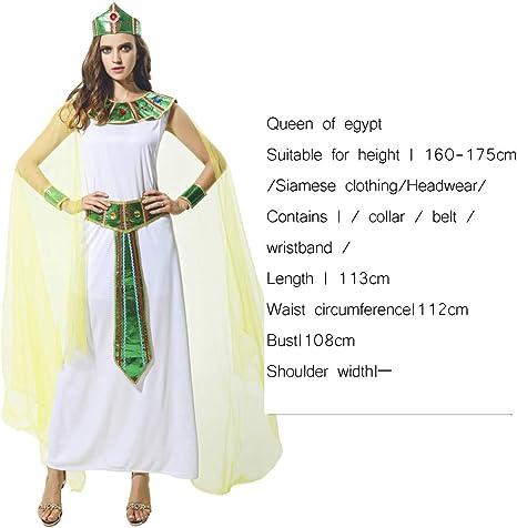 WSJYP Ropa Adulto Mujer Cleopatra Vestido Ropa árabe Cosplayl ...