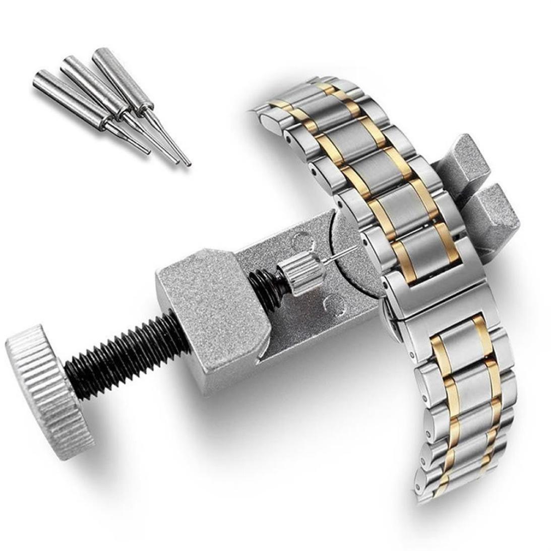 Outstaプロフェッショナルウォッチバンドストラップブレスレットリンクリムーバー修復ツール調整キットfor Watchmakers with 3余分なピン B0796MHC2D