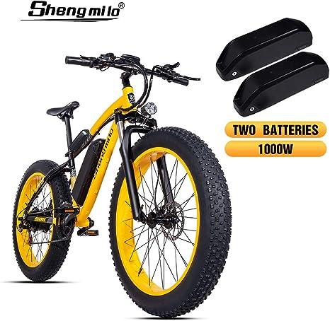 Shengmilo 1000W Motor Eléctricas 26 Pulgadas Mountain E-Bike ...