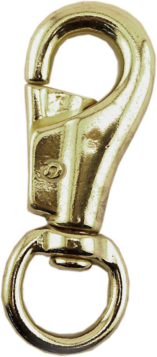 Enkay 516-BR-C Bull Snap, Brass, Carded