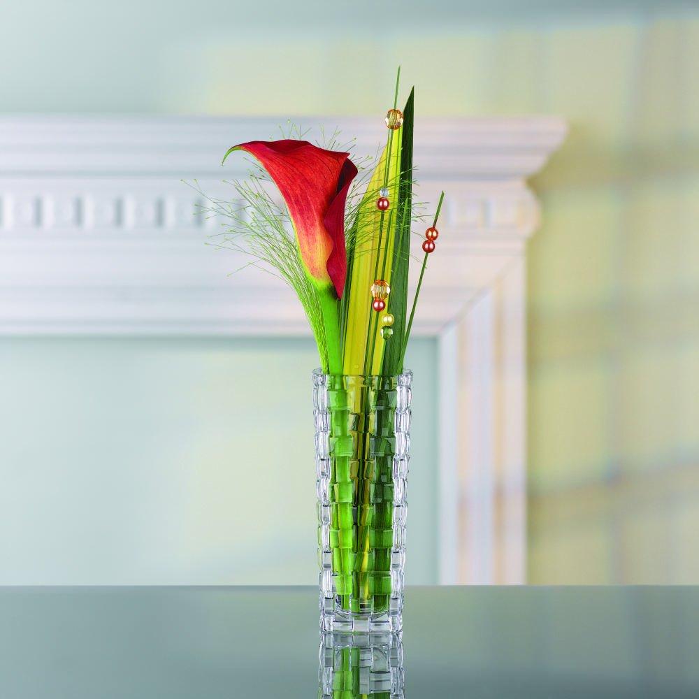 nachtmann dancing stars bossa nova 11 inch crystal vase ebay. Black Bedroom Furniture Sets. Home Design Ideas