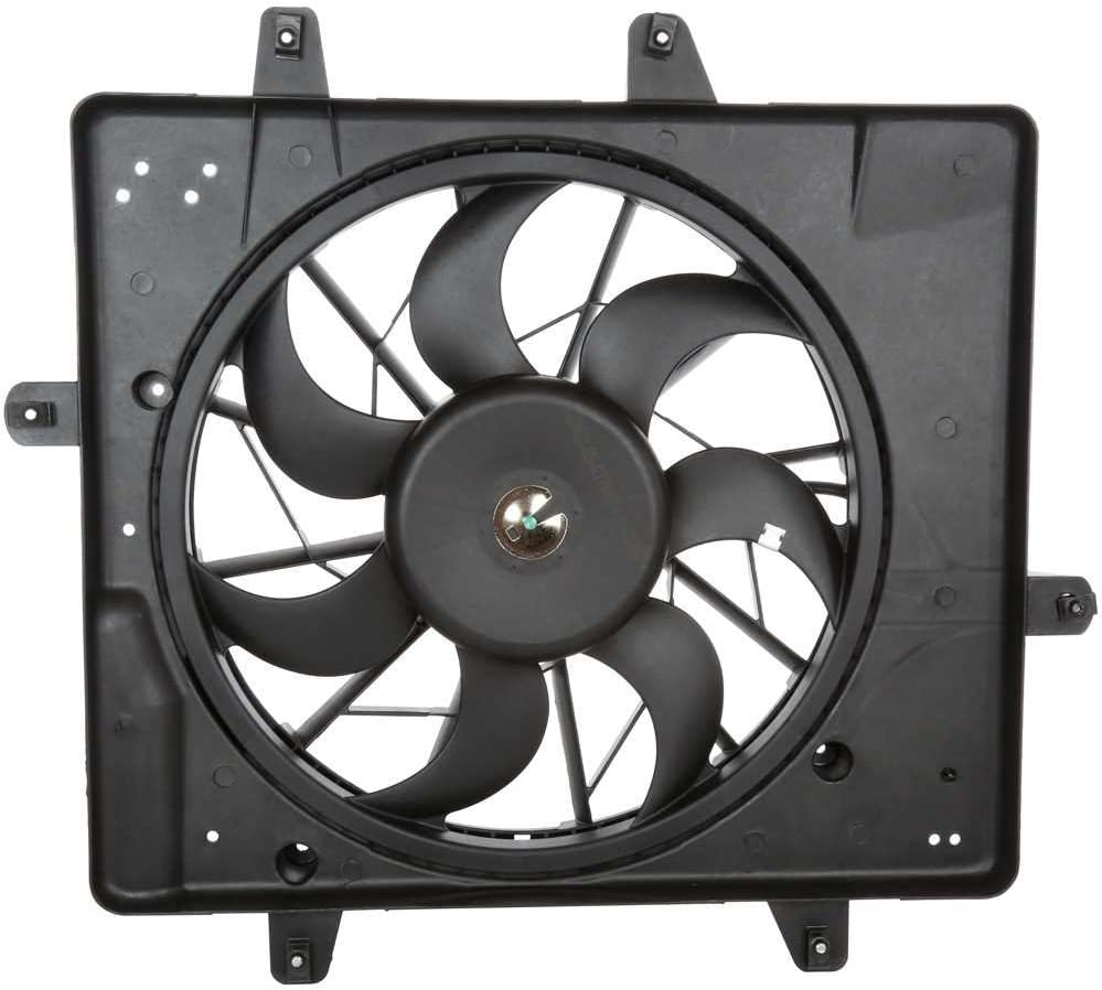Prime Choice Auto Parts FA720024 Radiator Condenser Cooling Fan Assembly