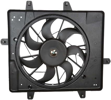 Prime elección de auto partes fa720024 Radiador Ventilador de refrigeración condensador Asamblea: Amazon.es: Coche y moto