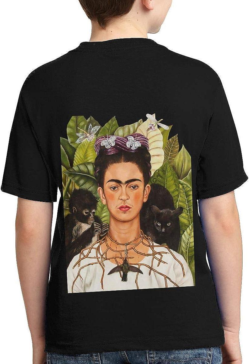 Xshuhua Boys,Girls,Youth Frida Kahlo Tee Shirt