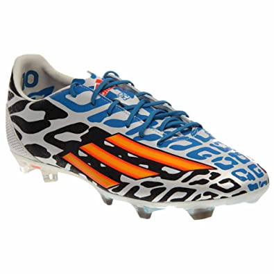 promo code cfa29 e1c68 adidas F30 Fg Messi World Cup Mens Soccer Shoes (8.5) White Orange