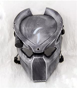 YTM (TM) Alien Vs Predator para Airsoft y Paintball máscara con cuatro modos de