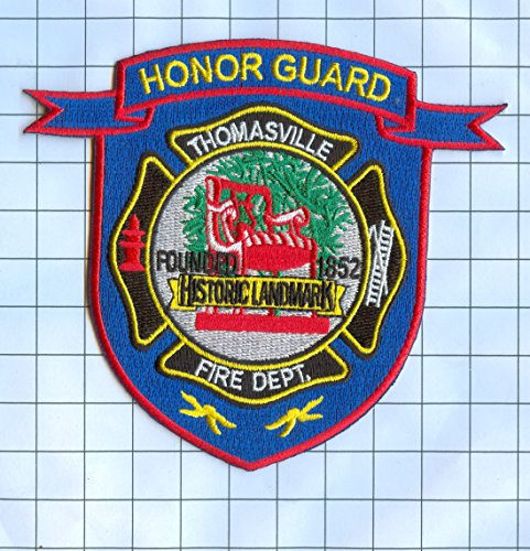 fire-dept-patch-embroidered-patch-collectible-thomasville-honor-guard
