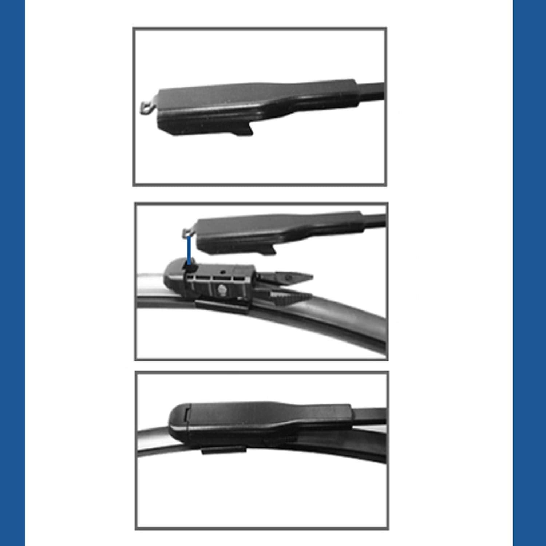Punto 3 Door Hatchback 2012-2015 Windscreen Wiper Blade Kit