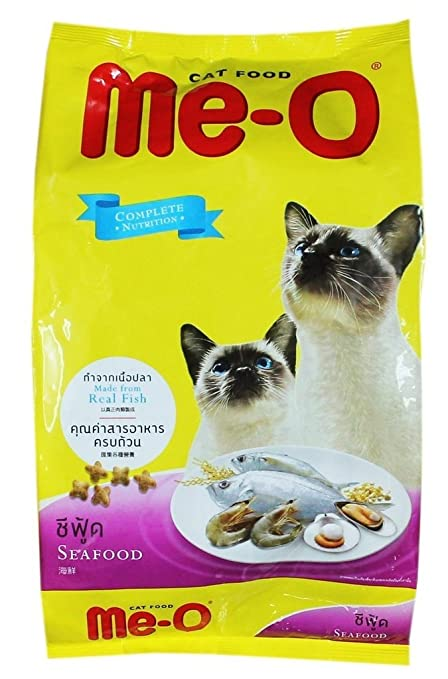 Me-O Cat Food, Sea Food, 7 kg (Free 1 kg)