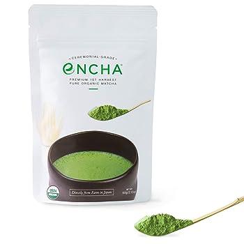 Encha Organic USDA-Certified Premium Matcha Tea