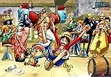 Jigsaw Puzzle 1000 One Piece Happy Party Time - Oda Eichiro Haksan 1701
