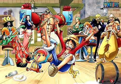 Jigsaw Puzzle 1000 One Piece Happy Party Time - Oda Eichiro Haksan 1701 by haksan