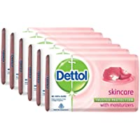 Dettol Skincare Soap, 125 g (Pack Of 6)