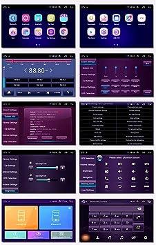 USB XMZWD Coche Navegaci/ón System 9 Android 9.1 Car GPS Navegaci/ón Reproductor De para Chrysler 300C 4.0 Bluetooth,WiFi:4+64G Pantalla LCD T/áctil WLAN
