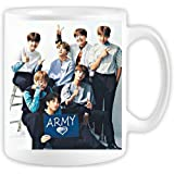 BTS coffee mug army