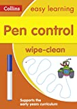 Collins Easy Learning Preschool - Pen Control Age 3-5 Wipe Clean Activity Book