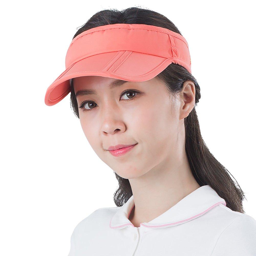 orange LJHA Hat Men and Women Summer Sun Predection Cap UV Predection Bike Cap Folding Baseball Cap UV100 Sunhat (color   orange)