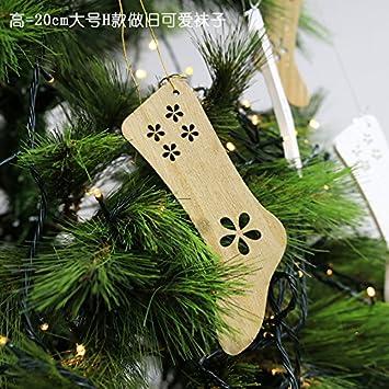 ... Hielo Tapices Colgantes Muebles Compras De Navidad Adornos De Navidad Bolas H, Tan Encantadora Calcetines Viejos Grandes (2/Paquete).: Amazon.es: Hogar