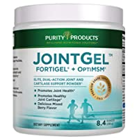 Joint Gel Formula from Purity Products - Bioactive Collagen Peptides + MSM - Supports...