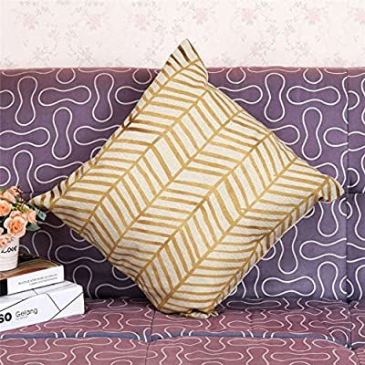 FairyTeller Decorative Vintage Cotton Linen Pillow Case Sofa Waist Throw Cushion Cover Home Decor Quality First