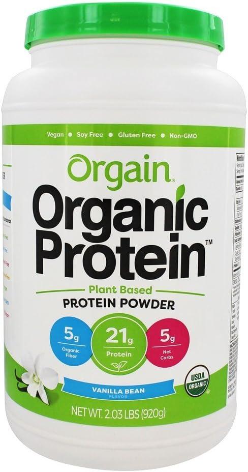 Orgain - La planta de proteína orgánica basó la haba de ...