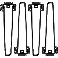 Opklapbare tafelpoten 4 STUKS Opklapbare haarspeldtafelpoten 12,6 INCH Hoogte Heavy Duty Easy Install Inklapbare…