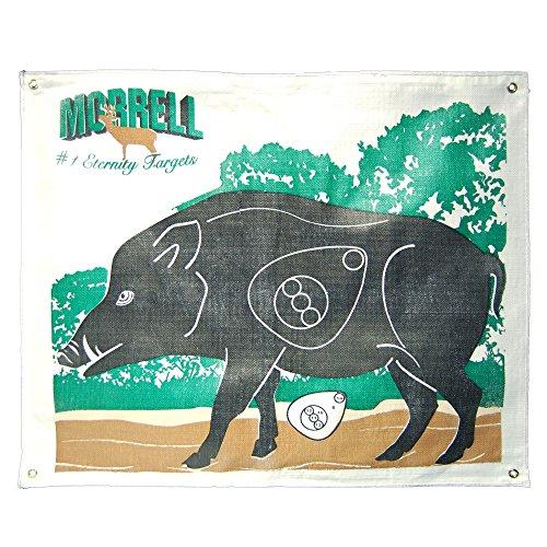 Face Target (Morrell Targets Polypropylene Archery Target Face, Hog)