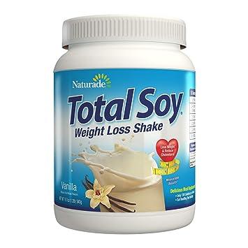 Naturade Total Soy Weight Loss Shake Vanilla 19 1 Oz Natural Artificial