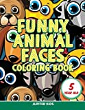 Funny Animal Faces: Coloring Book 5 Year Old - Best Reviews Guide