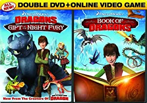 Dreamworks Dragons Double Pack Gift Of The Night Fury Book Of Dragons Two-disc Dvd Pack Online Video Game from Dreamworks Animated
