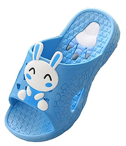 93ced8dd729c Blubi Toddler Little Kid Bunny Lightweight Shower and Poolside Sandal Beach  Sandal (9 M