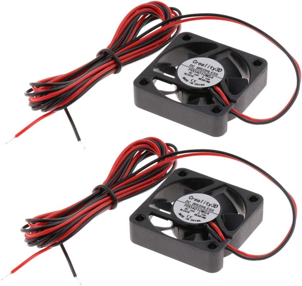 B Baosity - 2 unidades CC 24 V impresora 3D extruidor ...