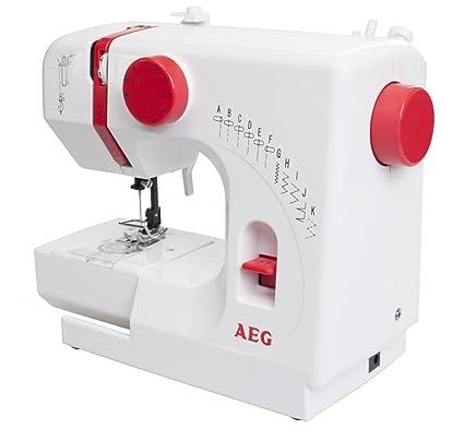AEG Freiarmmáquina de coser NM 100 kompakt