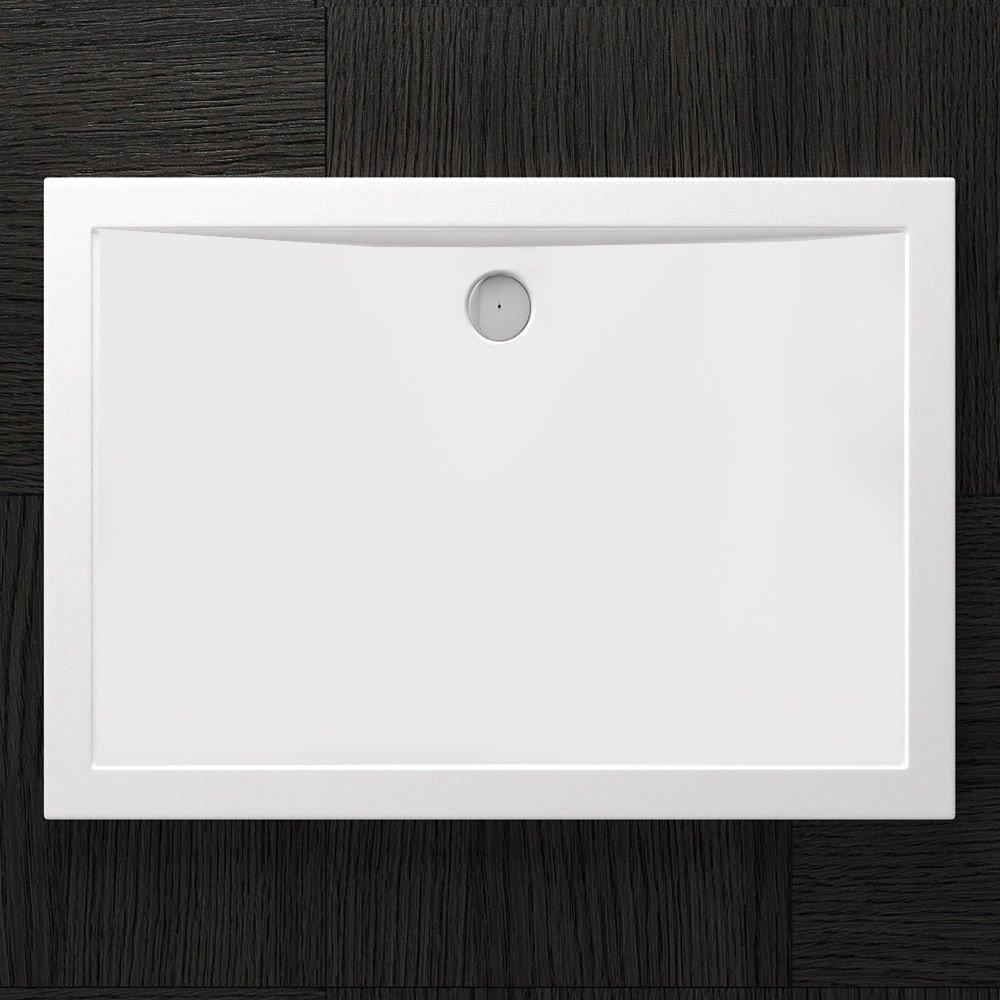 Receveur de douche design ultra plat 4cm bac a douche acrilique FARO02 75X120X4
