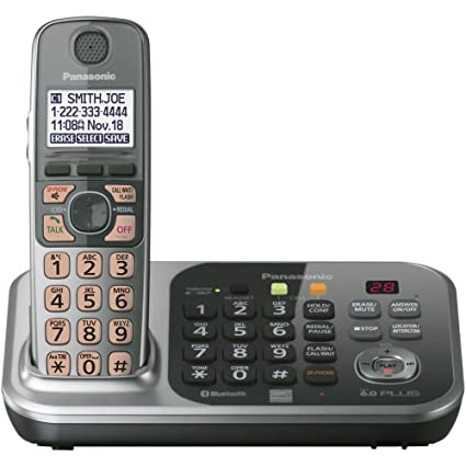 amazon com panasonic kx tg7741sdect 6 0 link to cell via bluetooth rh amazon com Panasonic Kx 390 B Manual panasonic kx-tg7623b manual
