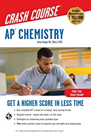 AP® Chemistry Crash Course, For the 2020 Exam, Book + Online: Get a Higher Score in Less Time (Advanced Placement (AP) Crash