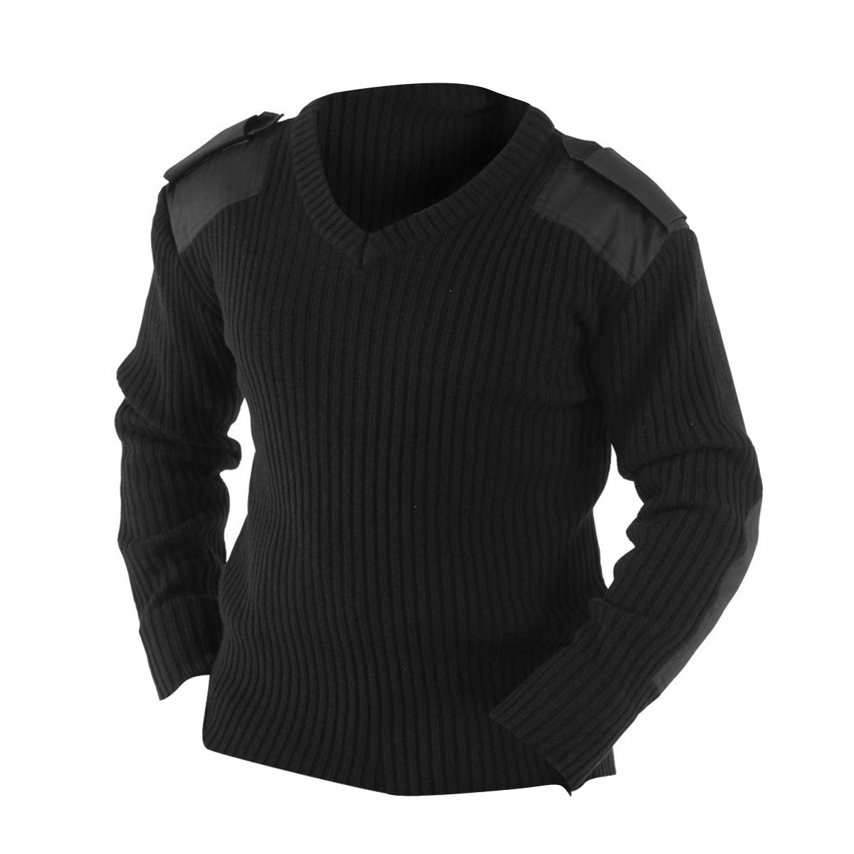 Yoko Mens V-Neck NATO Security Sweater/Workwear