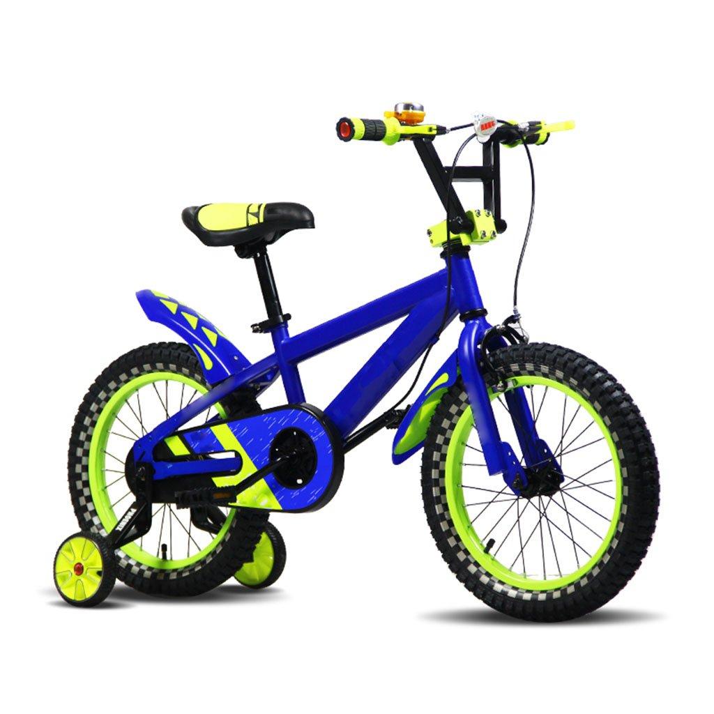 CGN子供の自転車、子供の学生のシングルスピードのベビーベビーキャリッジ自転車 soft B07C5RL5PX青