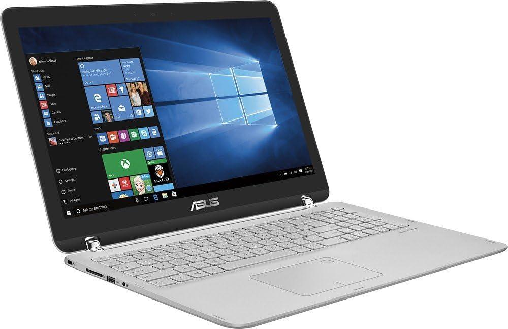 "2017 Asus Q504UA 2-in-1 15.6"" Full HD Touchscreen Laptop, Intel Core i5-7200U 2.3GHz, 12GB DDR4 RAM, 1TB HDD, Backlit Keyboard, WIFI, Bluetooth, HDMI, Win10-Silver"