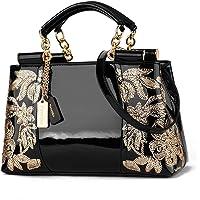 Nevenka Women Luxury Embroided Leather Handbag Evening Bags