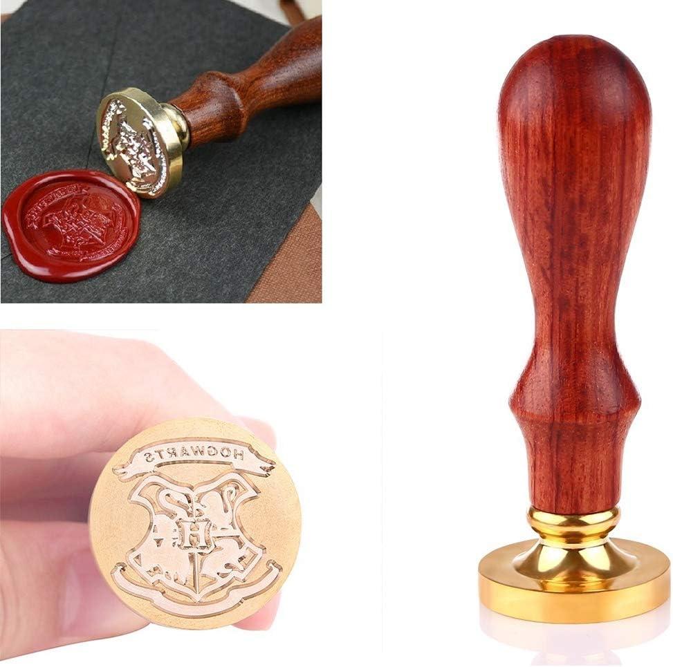 SODIAL Personnalis/é Pour Harry Potter Poudlard /éCole Badge Initial Lettre Vintage Alphabet Cire Badge Sceau Timbre Kit Pour Enfants Cadeau
