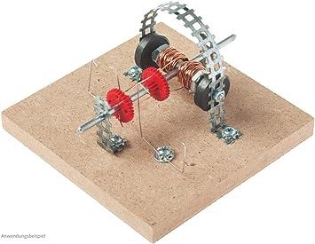 Elektromotor Dauermagnet Modell Bausatz Kinder Werkset Bastelset ab 13 Jahren